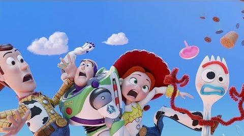 Toy Story 4 de Disney•Pixar Teaser Tráiler Oficial - Clouds HD