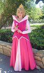 Aurora holds a rose @ Disneyland