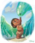 Baby Moana Artwork