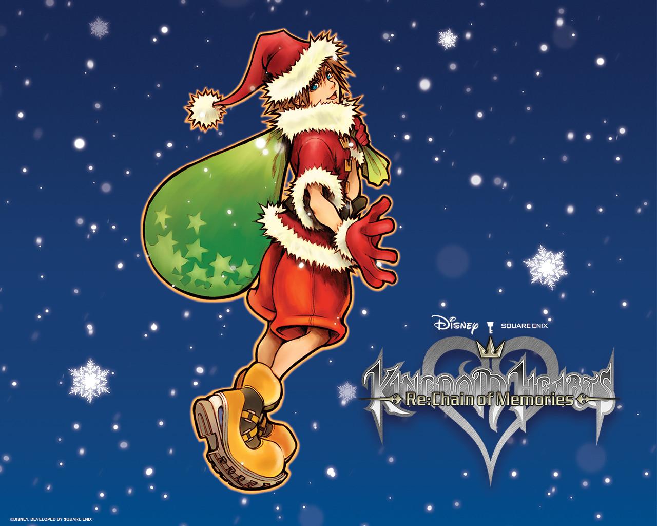 Image - Christmas Sora wallpaper-1000×800.jpg   Disney Wiki   FANDOM ...