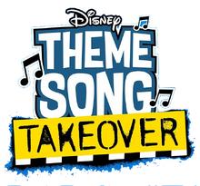 Disney Theme Song Takeover logo
