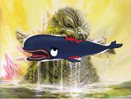 Godzilla eats Monstro
