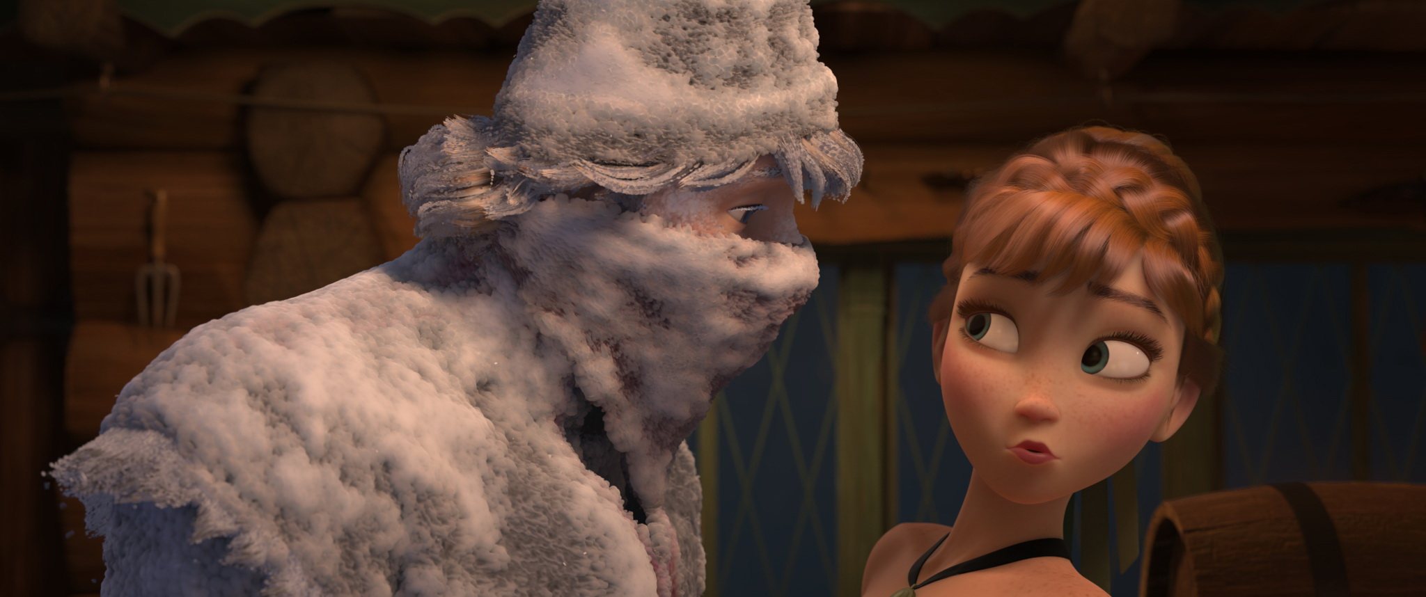 Anna Meeting Kristoff Not Exactly Love At First Sight