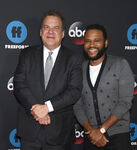 Jeff Garlin & Anthony Anderson at Disney ABC Freeform Upfront