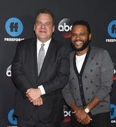Jeff Garlin & Anthony Anderson at Disney ABC Freeform Upfront