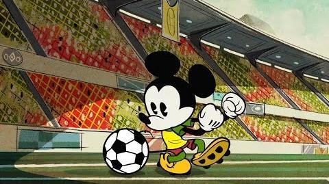 Mickey Mouse O Futebol Clássico Disney NL