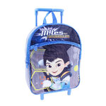 Miles From Tomorrowland 16 Inch Rolling Backpack - Blue