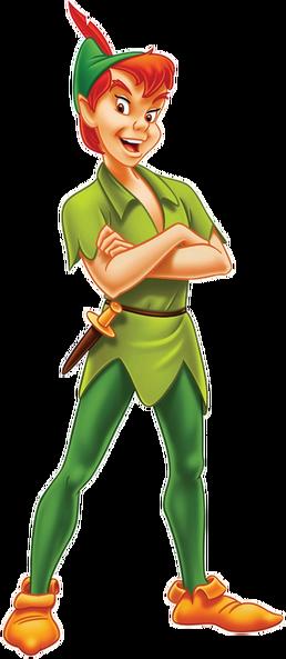 Peter Pan Transparent