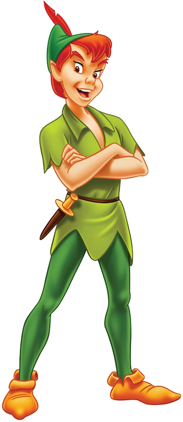 Forever young character - Peter Pan