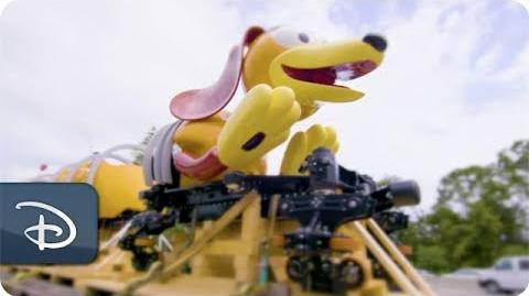 Slinky Dog Dash Ride Vehicle Arrives at Disney's Hollywood Studios