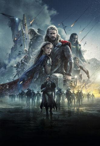 File:Textless Thor The Dark World Poster.jpg