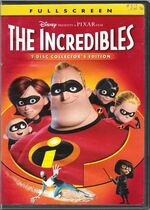 The Incredibles DVD Fullscreen