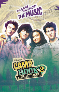 Camp Rock 2 The Final Jam Poster