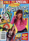 Disney Adventures Magazine cover October 2003 Fall TV thats so raven