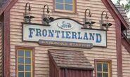 Frontierland Station Magic Kingdom