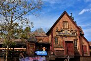 Frontierland Station Magic Kingdom