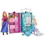 Frozen Anna and Elsa's Royal Closet
