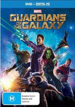 Guardians of the Galaxy 2014 AUS DVD + Digital HD