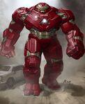 Hulkbuster Ryan Meinerding AOU Concept Art 02