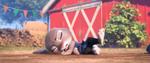 Judy jatuh setelah didorong oleh Gideon Grey