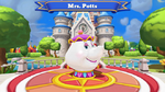 Mrs. Potts Disney Magic Kingdoms Welcome Screen