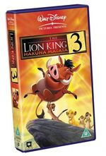 The lion king 3 hakuna matata uk vhs