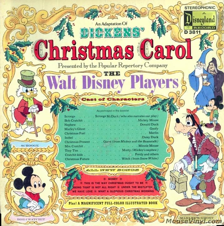 Mickeys Christmas Carol Book.An Adaptation Of Dickens Christmas Carol Performed By The