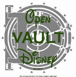 2011 Open Vault Disney Logo