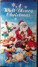 A Walt Disney Christmas VHS Cover