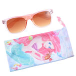 Ariel & Sebastian with sunglasses pouch MERMAID LAGOON