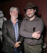 Dave Filoni George Lucas