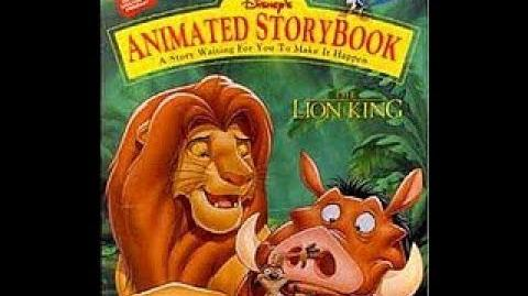 Disney's Animated Storybook The Lion King Read Along
