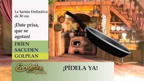 """Disney España - Teletienda Enredados """"La Sarten definitiva"""""""