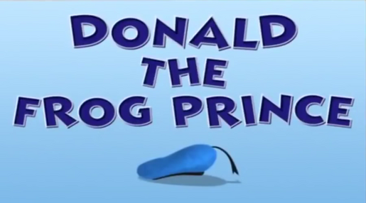 88 Donald Duck With Frog