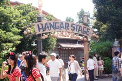 Hangar stage disney sea