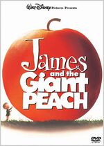 James and the Giant Peach Japan DVD