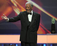 Morgan Freeman speaks at 17th SAG