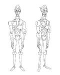 Robot Obake concept 4