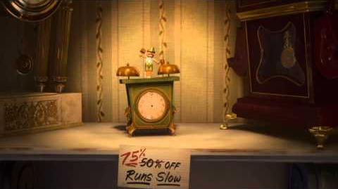Walt Disney Animation Studios Short Films Collection Tick Tock Tale