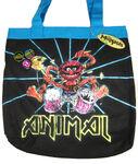 Animal drums tote bag