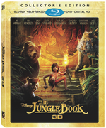 Jungle Book 2016 3D blu-ray