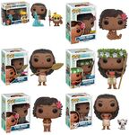 Moana Funko pop collection