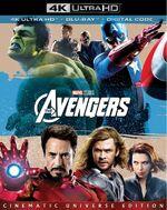 The Avengers 4K Blu-Ray