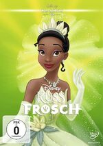 The Princess and the Frog 2017 Germany DVD