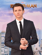 Tom Holland Spider-Man Homecoming premiere