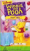 Winnie the Pooh Playtime Pooh Party 1997 AUS VHS