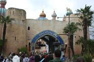 Adventureland of Disneyland Paris