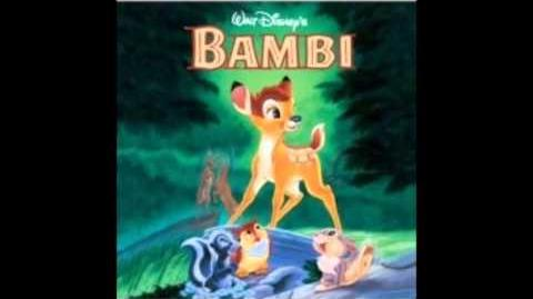 Bambi - OST 14 - Man Returns (REMAKE version) - The new Man Returns Music for the next re-release version of Bambi (1942)