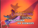 Darkwing Duck German Heading