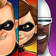 Disney Heroes - Battle Mode Incredibles Icon